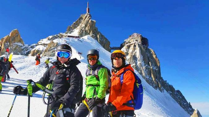Private Off-Piste Skiing Lessons ? Advanced