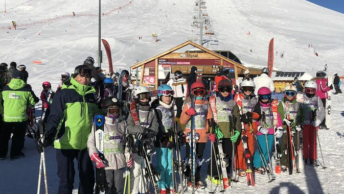 Kids Ski Lessons (4-13 years) - Low Season - All Levels