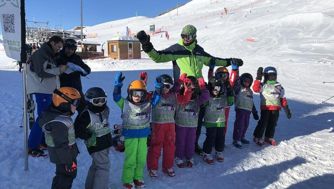 Kids Ski Lessons (4-13 years) - Holiday - Afternoon