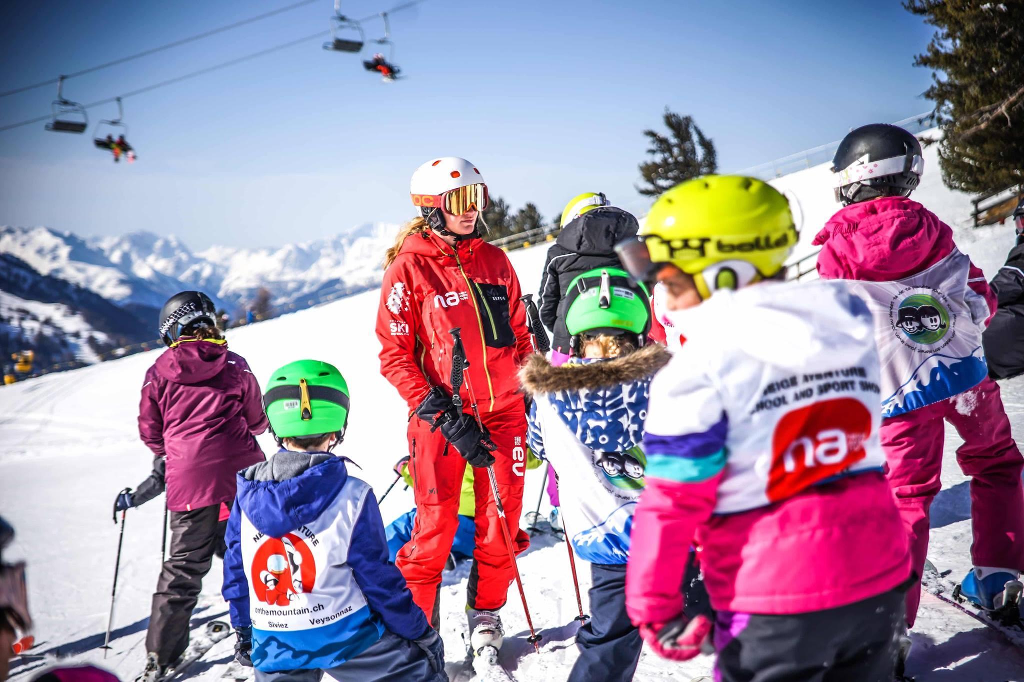 Kids Ski Lessons (5-12 y.) for All Levels - Veysonnaz