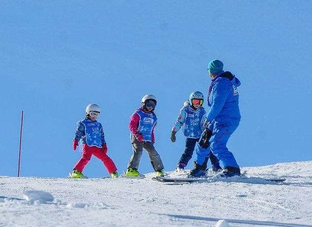 Private Ski Lessons for Kids - February