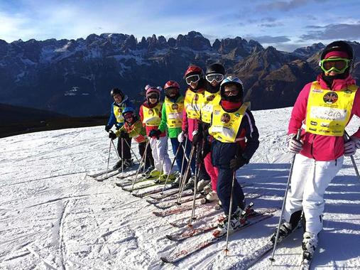 Kids Ski Lessons (5-14 y.) - Beginner