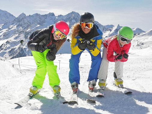 Kids Ski Lessons (from 4 y.) for Advanced Skiers