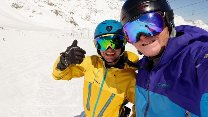 Alpine Skiing Coaching, private and small private group (LS)