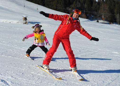Private Ski Lessons for Kids in Kitzbühel