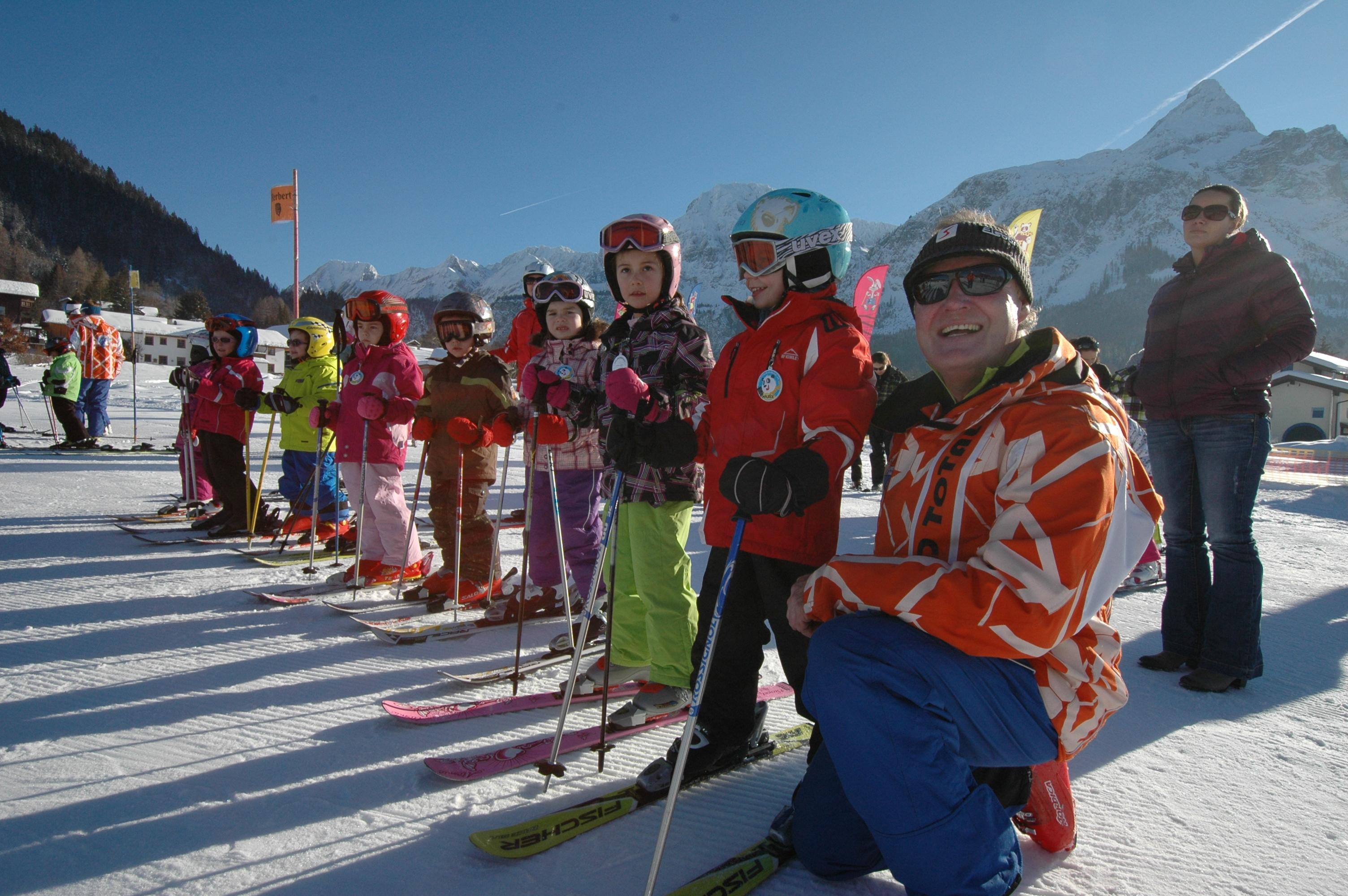 Kids Ski Lessons (3-14 y.)