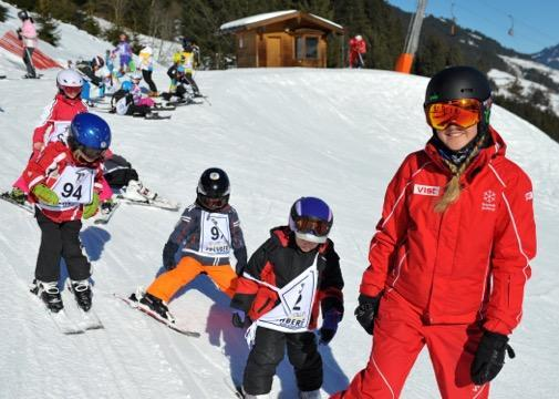 Ski Lessons for Kids (3-14 y.) for Advanced Skiers