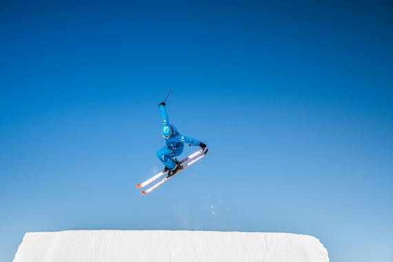Kids Ski Lessons (from 8 y.) for Advanced Skiers