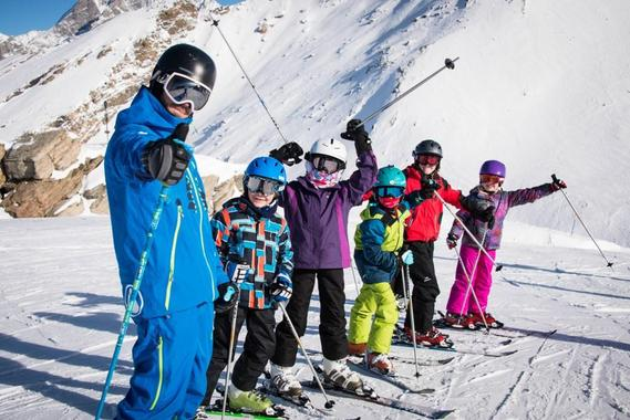 Kids Private Ski Lessons - All levels - Mornings