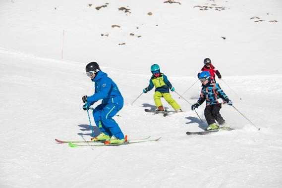 Kids Private Ski Lessons - All Levels - Full day