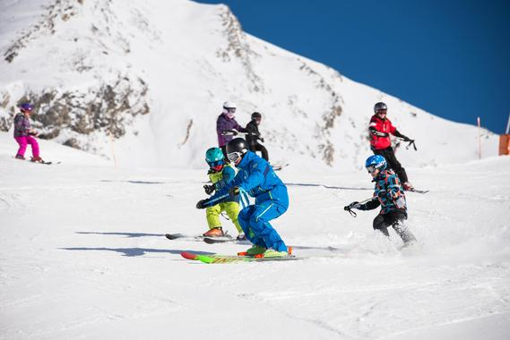 Kids Private Ski Lessons - All Levels - Afternoons