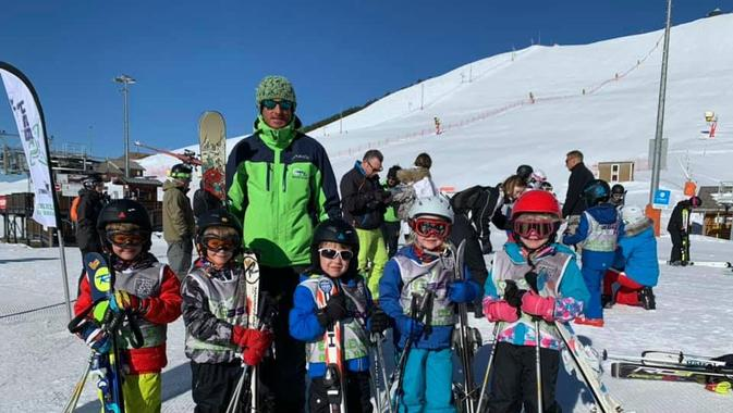 Kids Ski Lessons (4-13 years) - Holiday - Morning