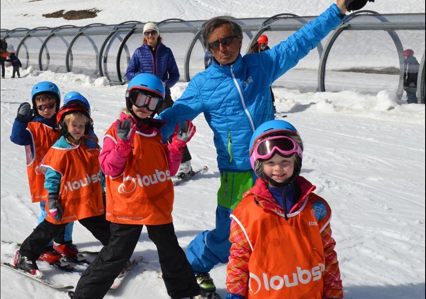 Kids Ski Lessons (4-5 y.) - February