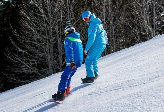 Private Snowboarding Lessons (from 9 years) - All Levels