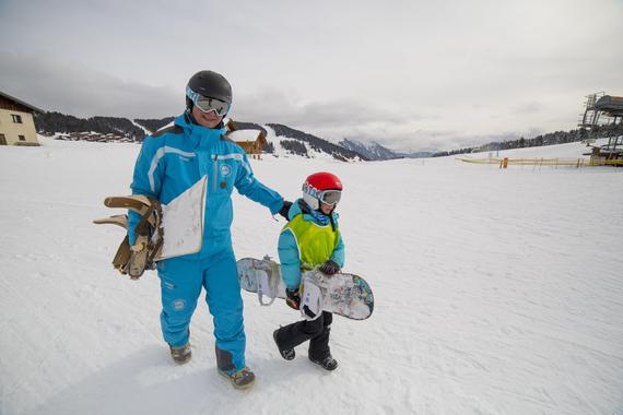 Snowboarding Lessons (from 10 years) - February