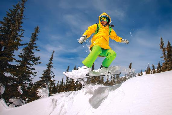 Snowboarding Lessons (from 8 years) for First Timers