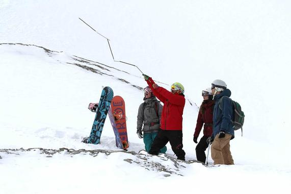Freeriding Group (from 13 years) - Beginners