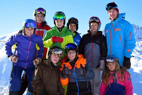 Teen Ski Lessons for All Levels (13-18 y.)