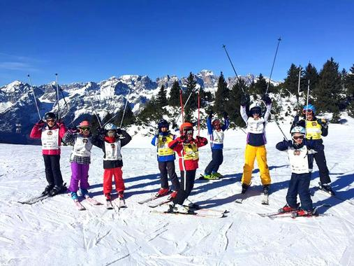 Kids Ski Lessons (5-14 y.) - Carnival - Advanced