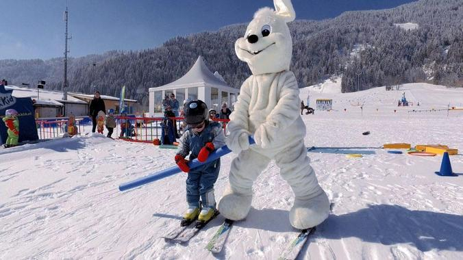 Ski Lessons for Kids (2-3 years)