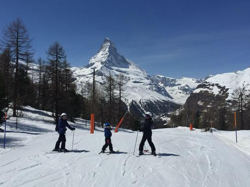 Private Ski Lessons for Families - Afternoon