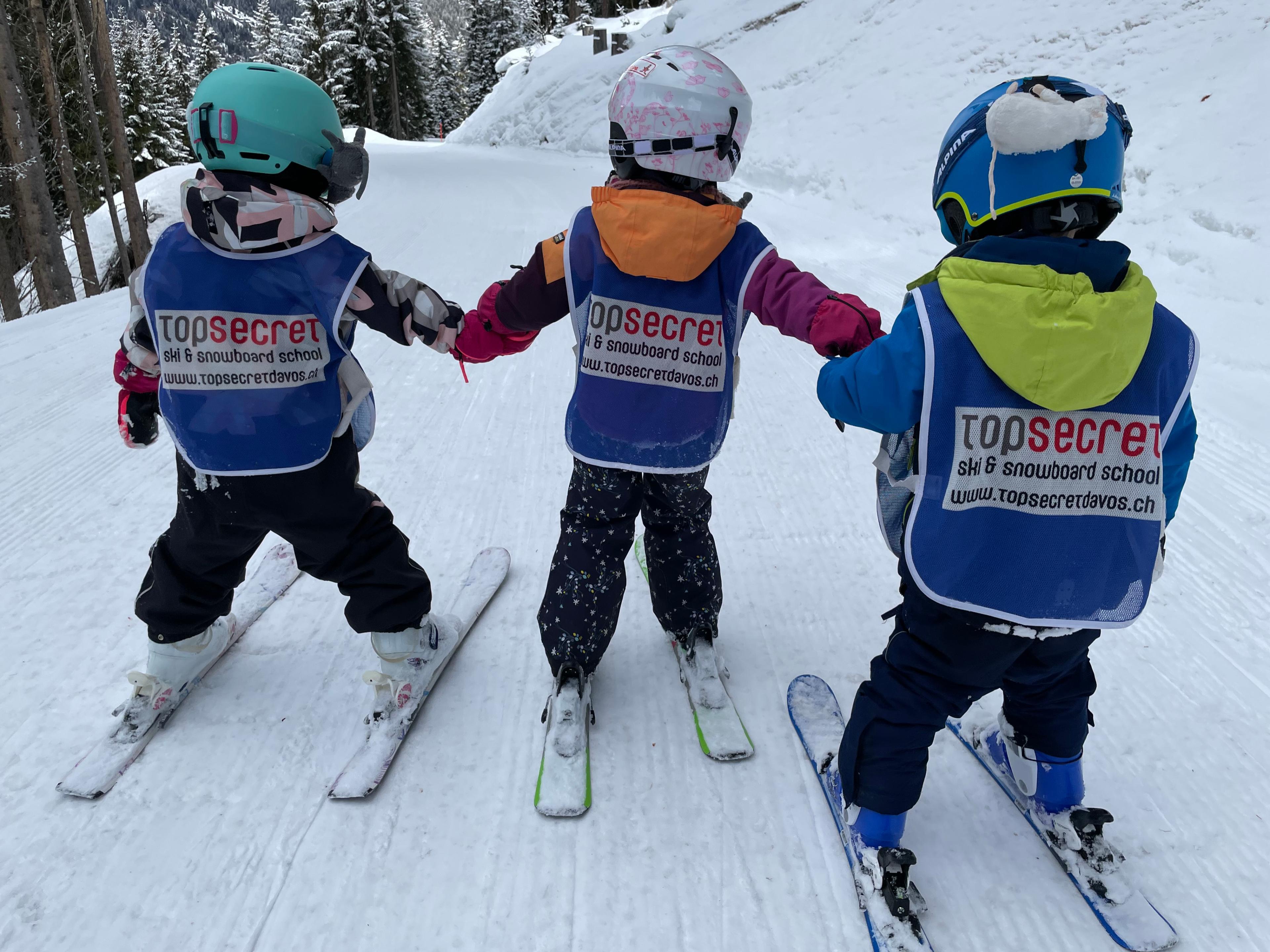 Kids Ski Lessons (4-17 y.) for Advanced Skiers