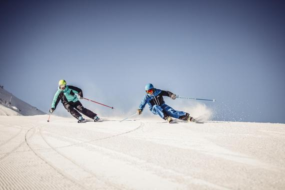 Adult Group Advanced Ski Lessons - Morning