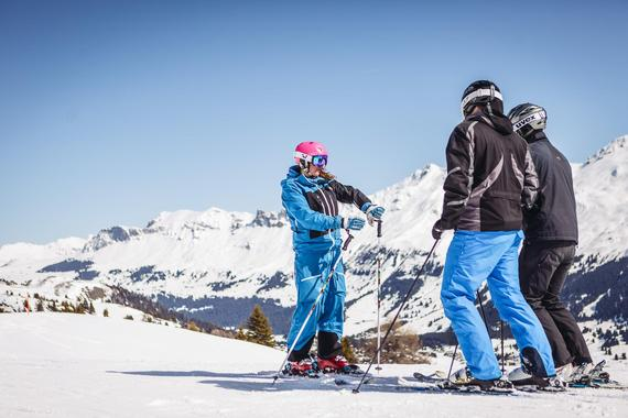 Adult Group Intermediate Ski Lessons - Morning