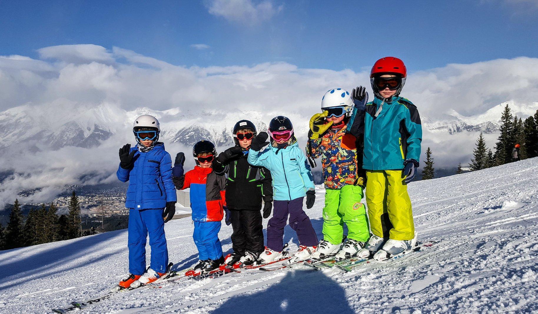 Kids Ski Lessons (4-15 y.)