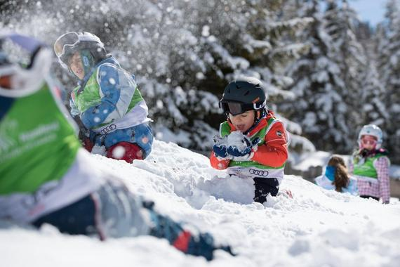 Kids Ski Lessons (2-4 years) - First Timer