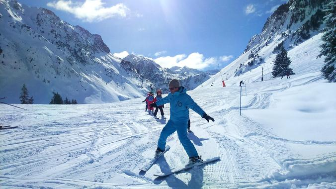 Kids Ski Lessons (3-11 y.) - Holiday - Afternoon - 1st Timer