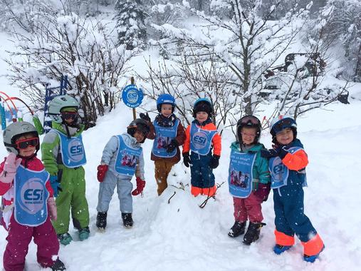 Kids Ski Lessons (3-11 years) - Holiday - Morning -1st Timer