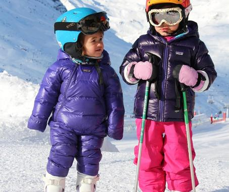 Kids Ski Lessons (3-4 y.) for First Timers