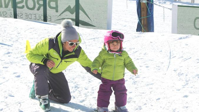 Kids Ski Lessons (3-4 y.) for First Timers - Low Season