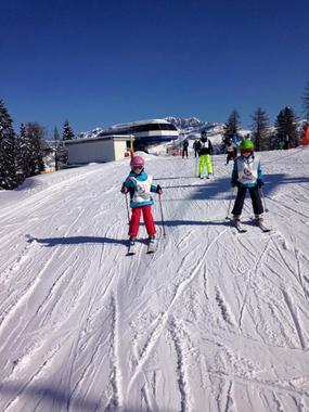 Kids Ski Lessons (3-5 y.) for First Timers - Holidays