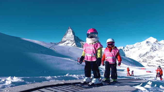 Kids Ski Lessons (3-6 y.) for Beginners