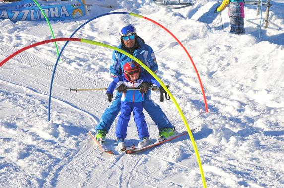 Kids Ski Lessons (4-14 y.) - Half Day - First Timer