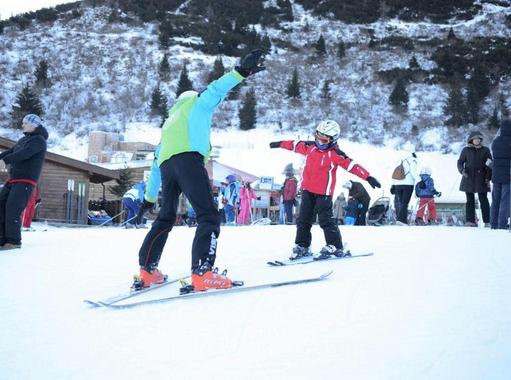 Kids Ski Lessons (4-14 y.) for All Levels - Christmas