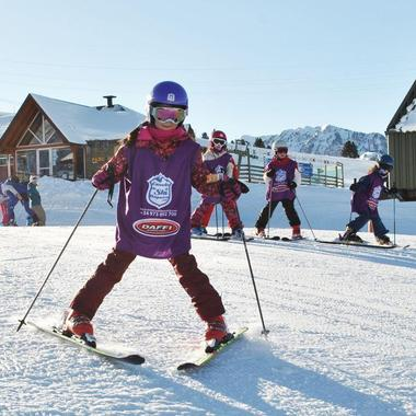 Private Ski Lessons for Kids in High Season