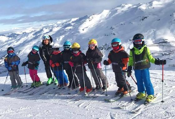 Kids Ski Lessons (4-17 y.) for All Levels - Holidays