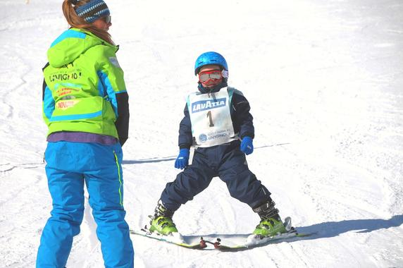 Kids Ski Lessons (5-12 y.) - All Levels