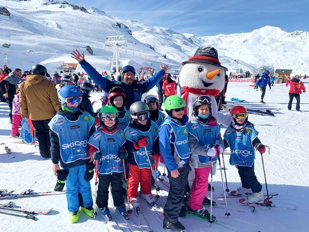 Kids Ski Lessons (5-12 y.)