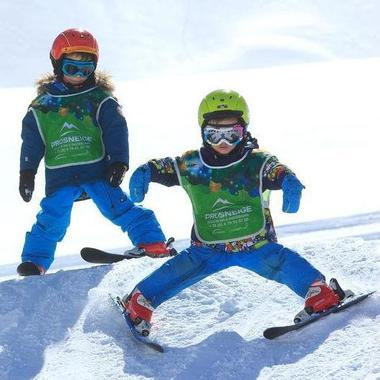 Kids Ski Lessons (5-13 y.) for All Levels