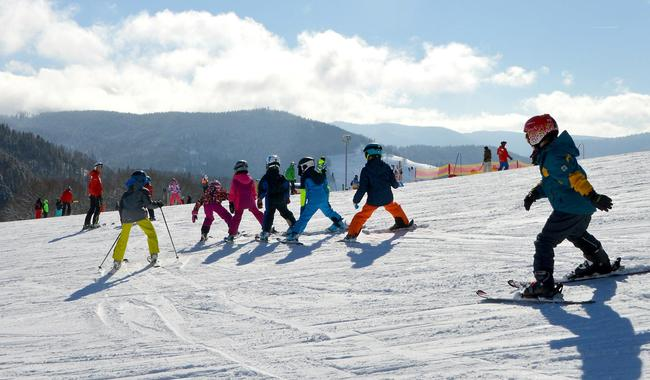 Kids Ski Lessons (6-12 y.) for All Levels