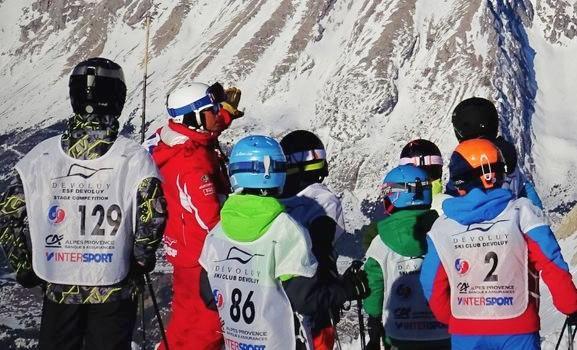 Kids Ski Lessons (6-12 y.) for Advanced Skiers - February