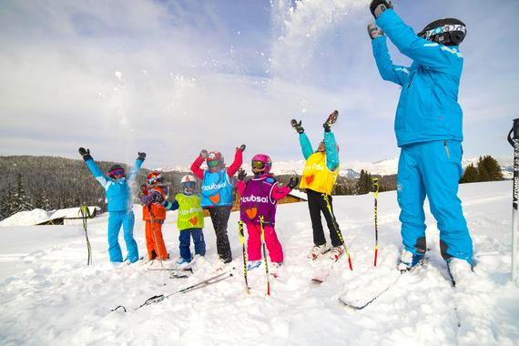 Kids Ski Lessons (6-12 y.) for All Levels - Holidays