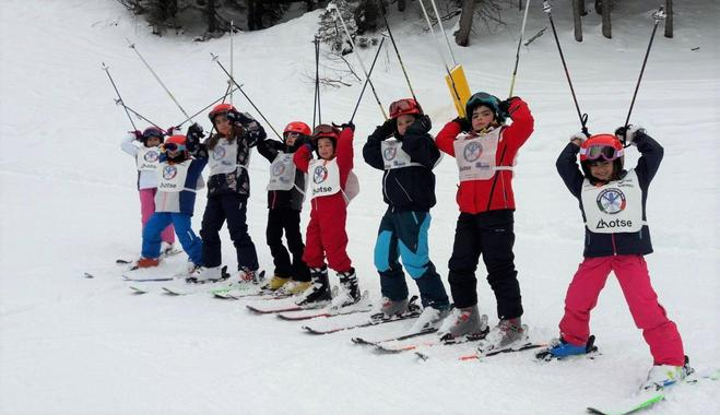 Kids Ski Lessons (6-13 y.) for All Levels