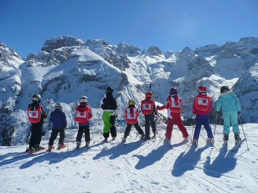 Kids Ski Lessons (6-13 y.) for Experienced Skiers - Full Day