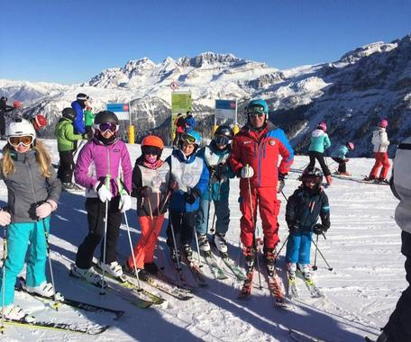 Kids Ski Lessons (6-13 y.) - With Experience