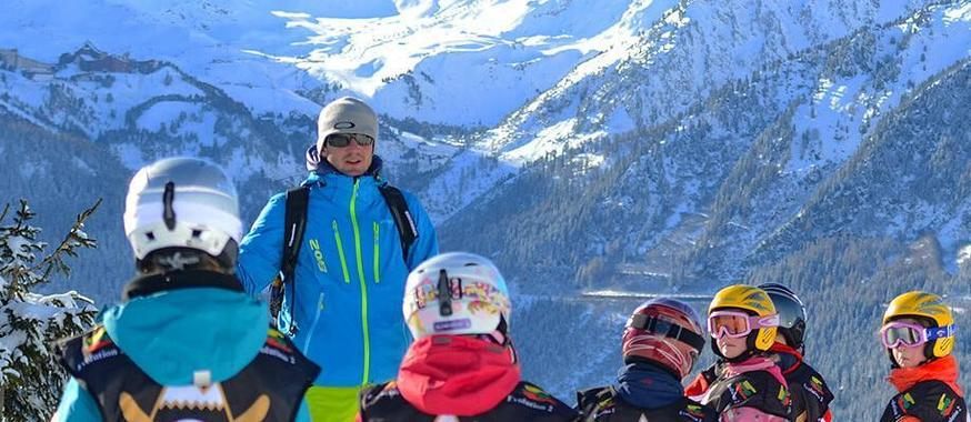 Kids Ski Lessons (6-18 years) - Afternoon